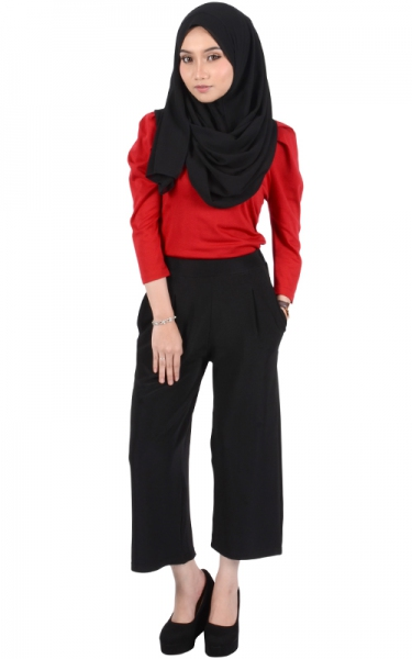 TEARA CULOTTES - BLACK