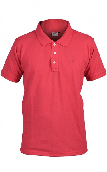 LEE POLO PIQUE SLIM - RED