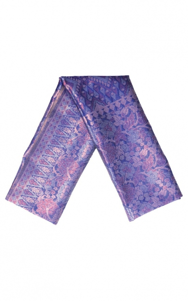 SAMPIN SONGKET CARL - BLUE PINK