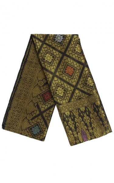 SAMPIN SONGKET IFFAT i - GOLD BLACK
