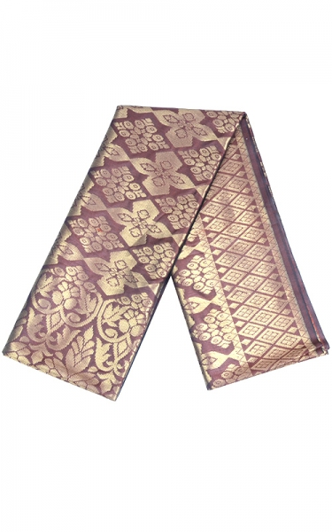 SAMPIN SONGKET SYUKRAN - DARK RED