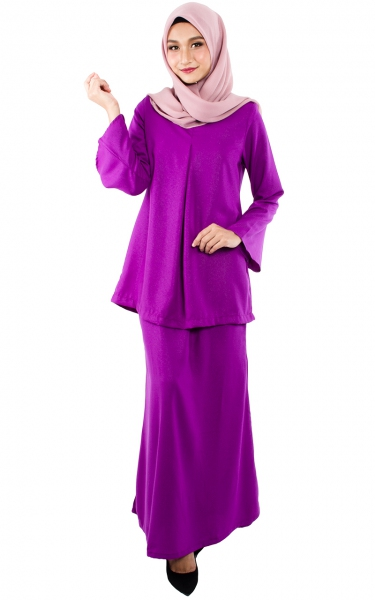 (FAMILY SET) BAJU KURUNG CATALINA - PURPLE