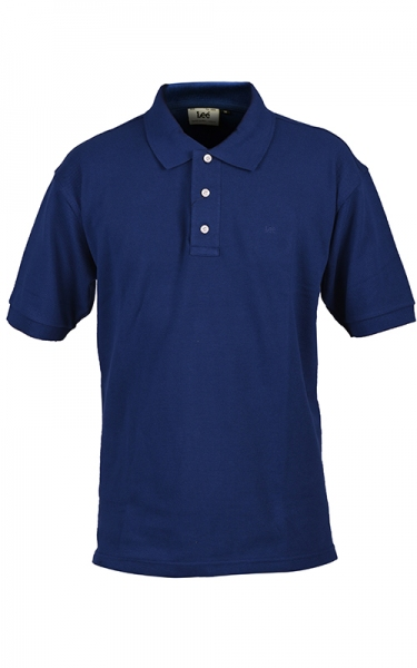 LEE POLO PIQUE SLIM - BLUE