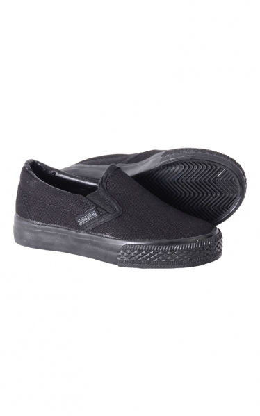 BG15-2691 (PRIMARY SCHOOL) ORIGINAL WARRIOR BLACK SCHOOL SHOES