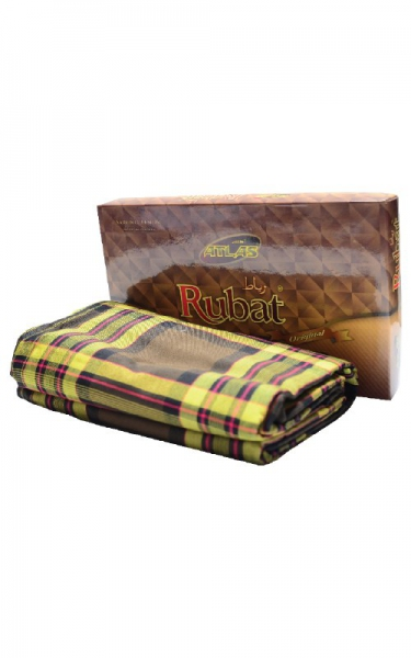KAIN PELIKAT RUBAT - YELLOW BLACK