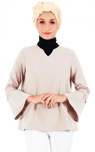 LAUREL LACE SLEEVE BLOUSE - MILO