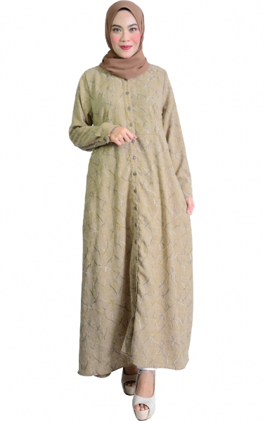 IRINA JUBAH DRESS - NESCAFE