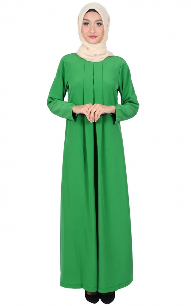 VIVY JUBAH DRESS - GREEN