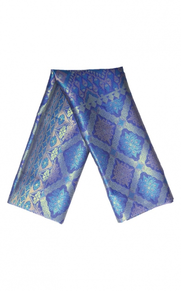SAMPIN SONGKET DAMIEN - BLUE GREEN