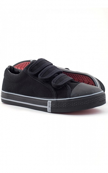 (PRIMARY SCHOOL) JAZZ SCHOOL SHOES - BLACK