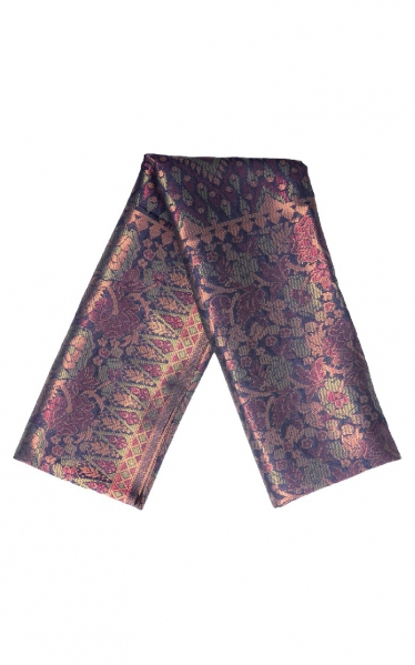 SAMPIN SONGKET CARL - DEEP RED