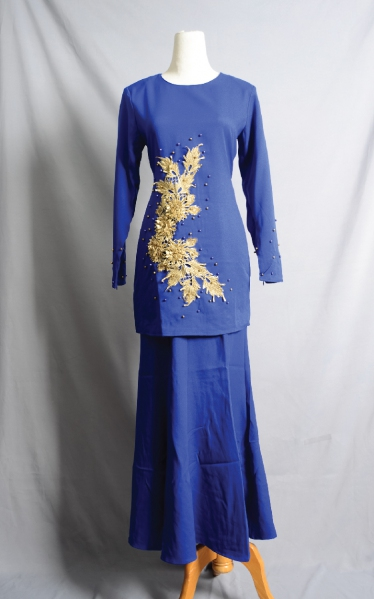 D'JUNE BAJU KURUNG MANIK - ROYAL BLUE