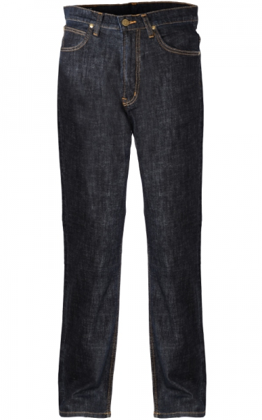 LEE BLU FLORIDA INDIGO STRETCH DENIM LONG JEAN - BLACK