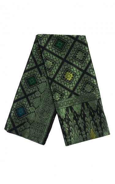 SAMPIN SONGKET IFFAT i - APPLEGREEN BLACK