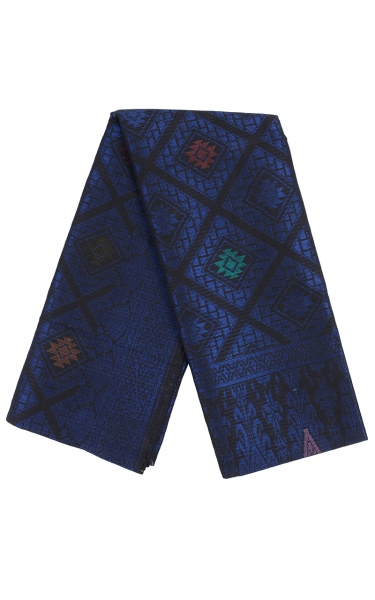 SAMPIN SONGKET IFFAT i - BLUE BLACK