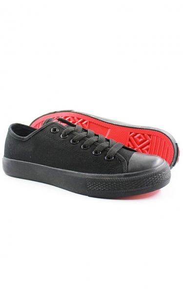 (SECONDARY SCHOOL) JAZZ SCHOOL SHOES - BLACK