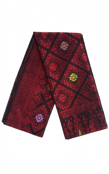 SAMPIN SONGKET IFFAT i - RED BLACK