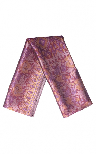 SAMPIN SONGKET CARL - MAROON PURPLE