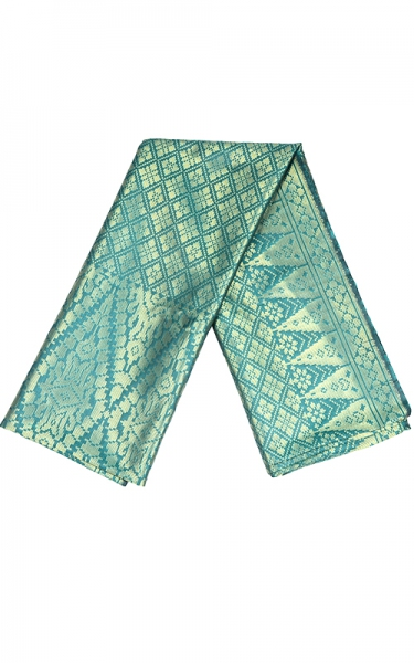 SAMPIN SONGKET SYUKRAN - FOREST GREEN