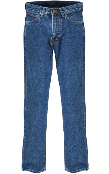 LEE STONE WASH MEN LONG JEAN - MIDNIGHT BLUE