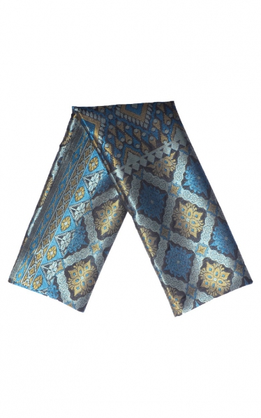 SAMPIN SONGKET DAMIEN - BLUE BLACK